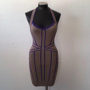Art Deco style bodycon dress